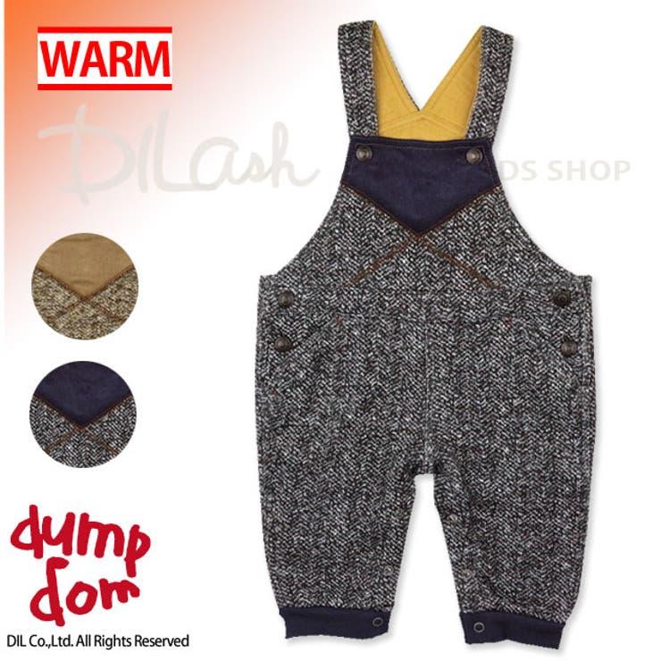 コーデュロイオーバーオール/dumpdom(ダンプドム)冬 ベビー 赤ちゃん 男の子