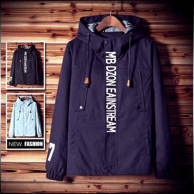 マウンテンパーカ メンズ アウター ジャケット ブルゾン フード プリント 大きいサイズ ジャンパー コーデ