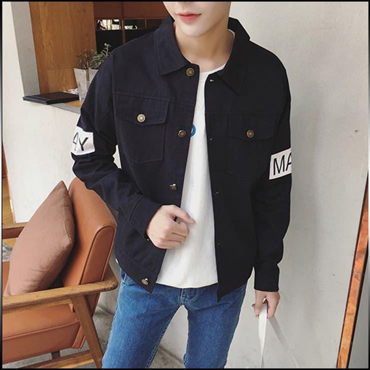 シャツジャケット メンズ アウター ブルゾン プリント ボタン カジュアル コーデ メンズファッション ジャンパー コート 紳士服