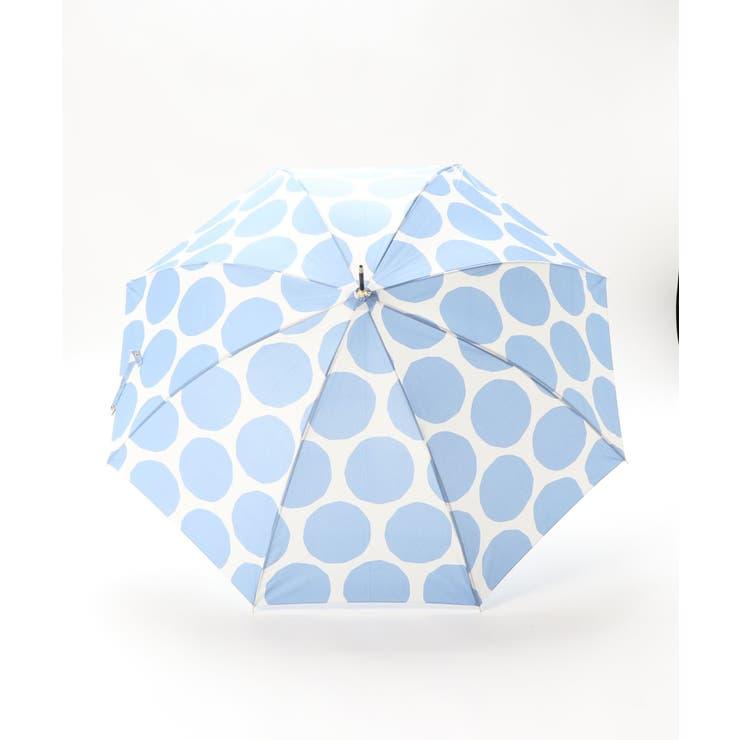 ビッグドット柄雨傘   DONOBAN   詳細画像1