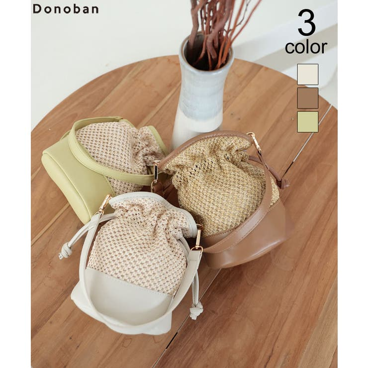 レディース バック 巾着バッグ | DONOBAN | 詳細画像1
