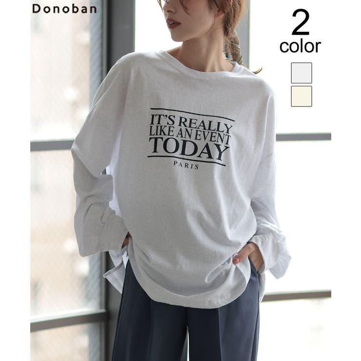 トップス レディース ロンTEE   DONOBAN   詳細画像1
