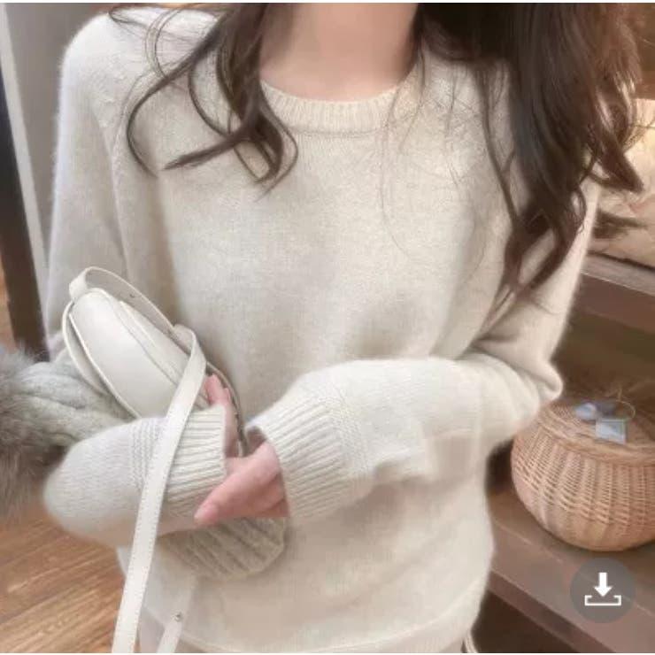 【Doula Doula】クルーネックニット・セーター【2021秋冬商品】 | Doula Doula | 詳細画像1