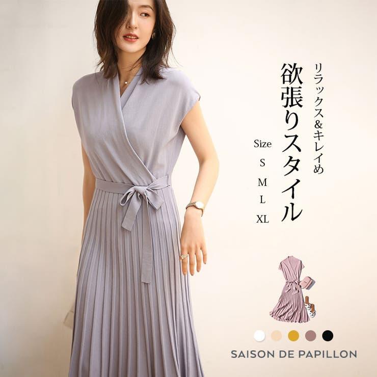 SAISON DE PAPILLON のワンピース・ドレス/ドレス   詳細画像