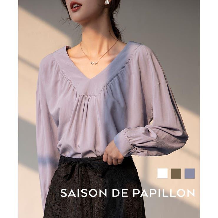 SAISON DE PAPILLON のトップス/シャツ | 詳細画像