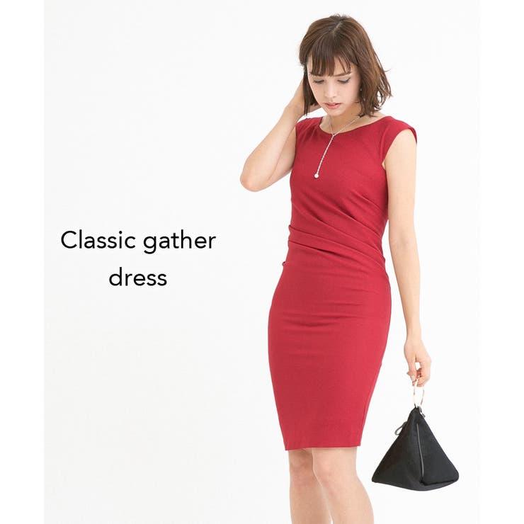 クラシックギャザードレス