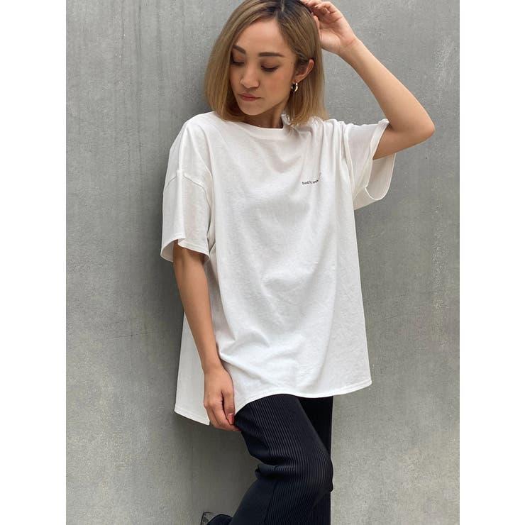 バックプリントロゴビッグTシャツ | DURAS | 詳細画像1