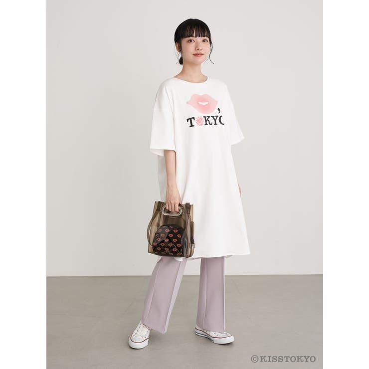 KISS TOKYO チュニックTシャツ   earth music&ecology    詳細画像1