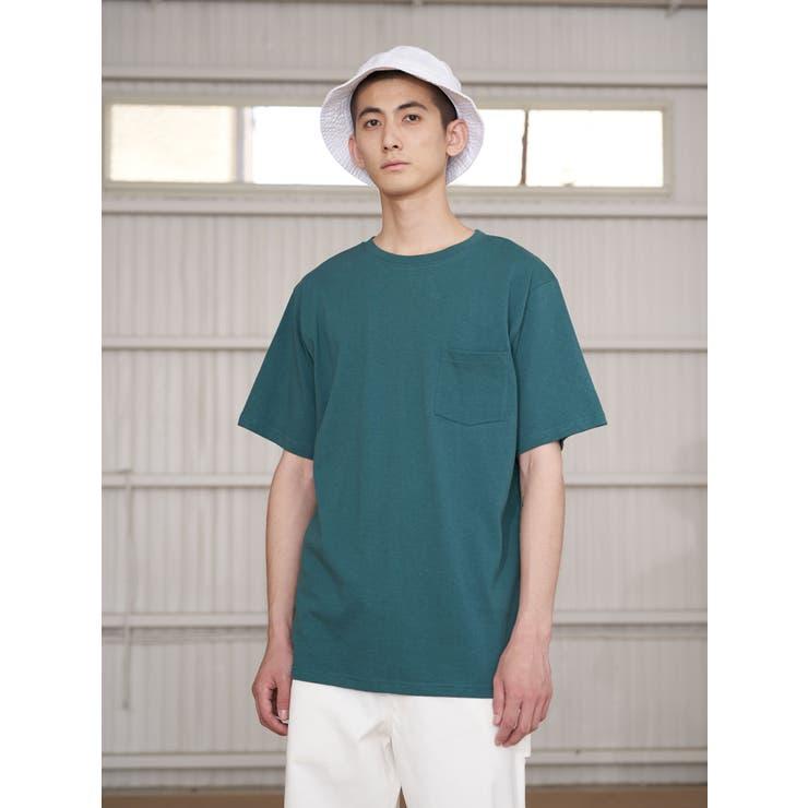 オーガニックコットンクルーバインダーTシャツ | koe | 詳細画像1