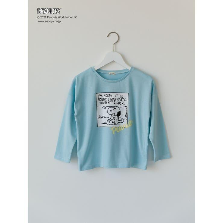 PEANUTS スヌーピーロングTシャツ   koe   詳細画像1