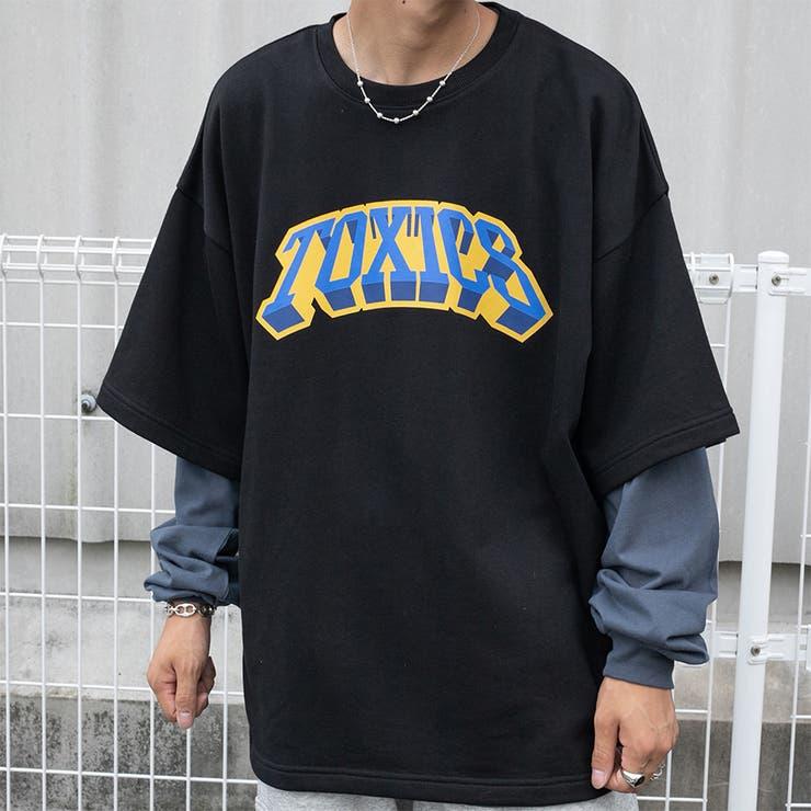 【kutir】カレッジロゴスウェットTシャツ | kutir | 詳細画像1