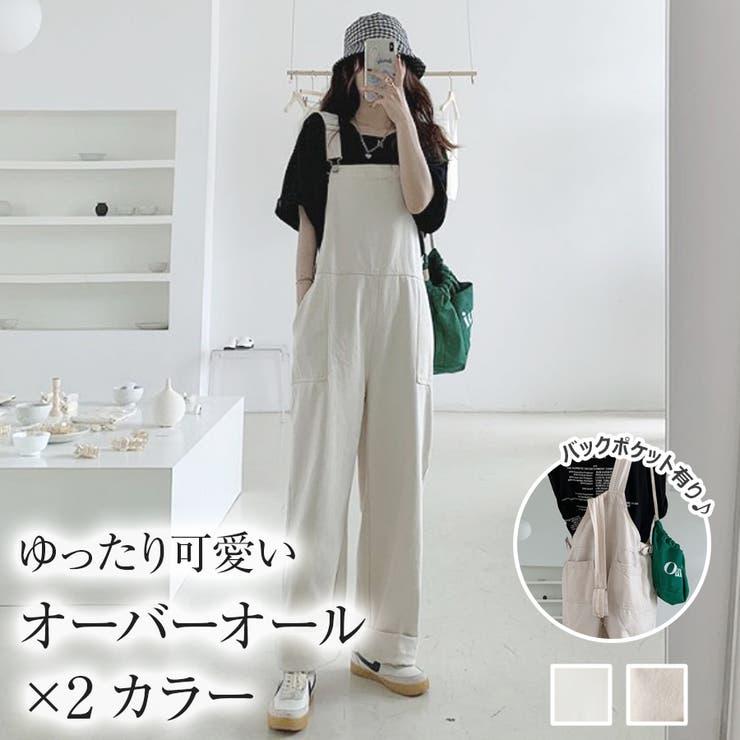 【girlydoll】サロペット【2021春夏商品】【韓国ファッション】 | Girly Doll | 詳細画像1
