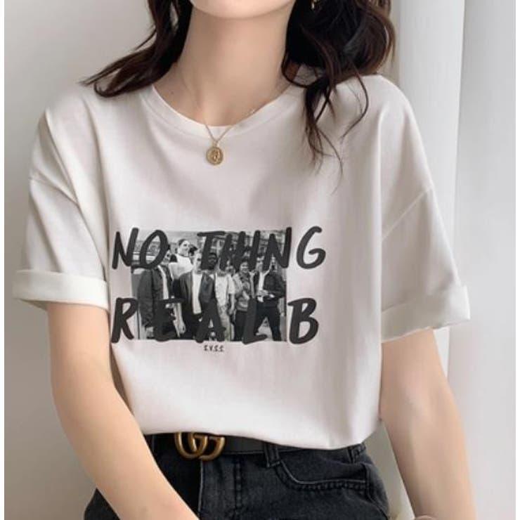 【Girlydoll】プリントイラストTシャツ【2021春夏商品】   Girly Doll   詳細画像1