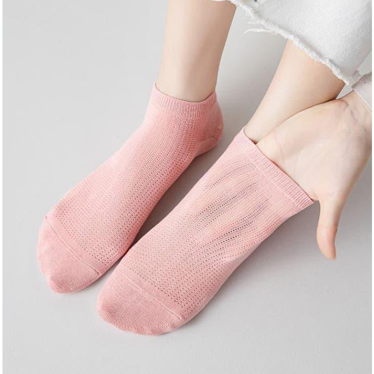 【Girlydoll】レディース靴下 シンプル ソックス【韓国ファッション】   Girly Doll   詳細画像1