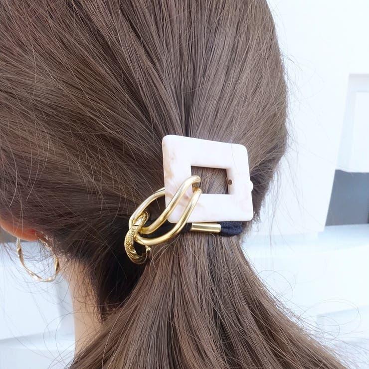 enjoueel のヘアアクセサリー/ヘアゴム   詳細画像