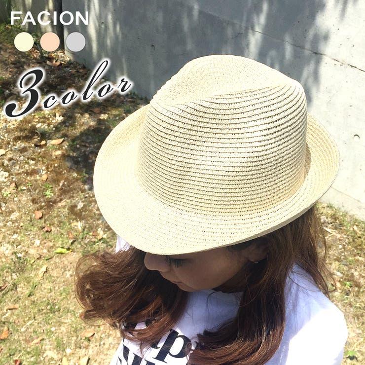帽子 ペーパーハット 日よけ | FACION | 詳細画像1