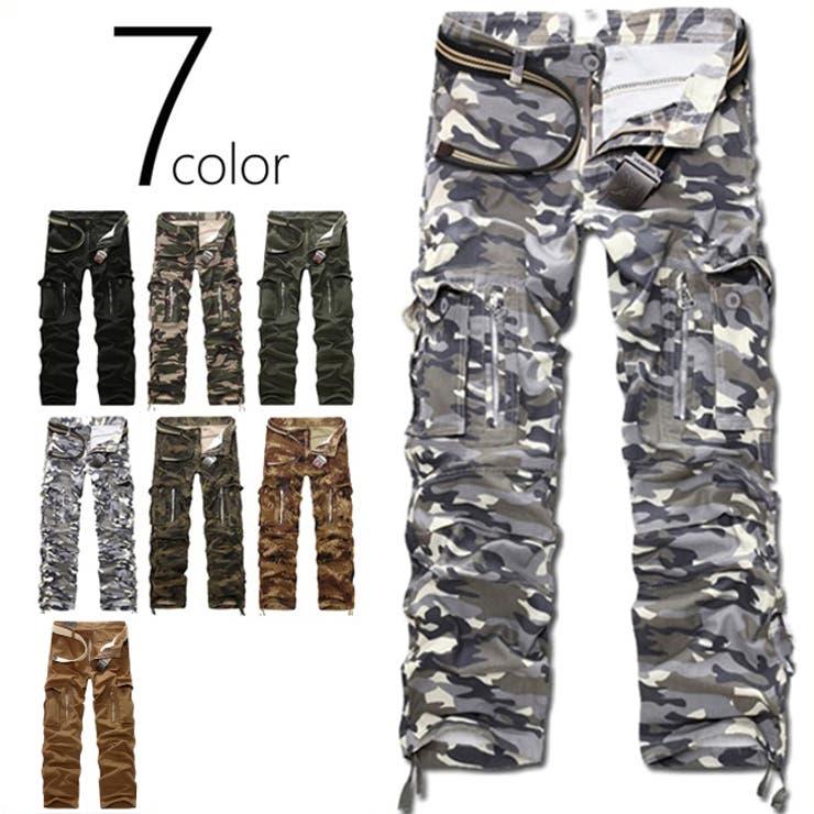 7color 迷彩パンツ 8ポケット | non・rubbish | 詳細画像1