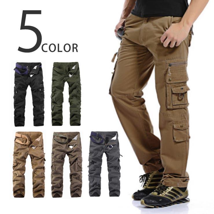 5color カーゴパンツ 10ポケット | non・rubbish | 詳細画像1