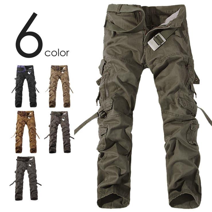 6color カーゴパンツ 8ポケット   non・rubbish   詳細画像1