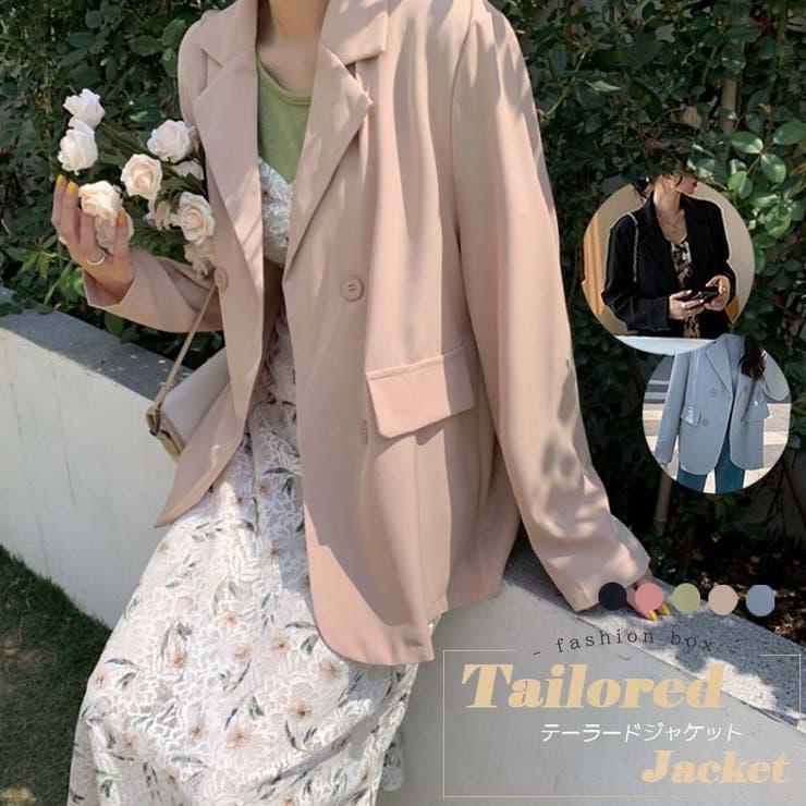 テーラードジャケット 2021 春夏 | fashion box  | 詳細画像1