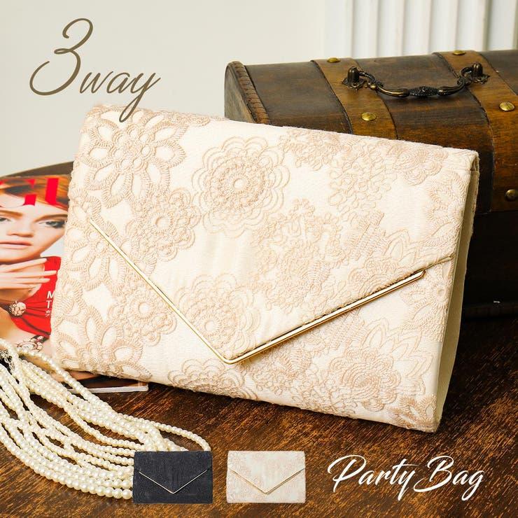 パーティーバッグ 結婚式 バッグ | Fashion Letter | 詳細画像1