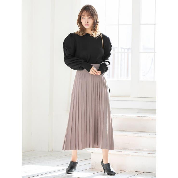プリーツニットスカート   fifth   詳細画像1