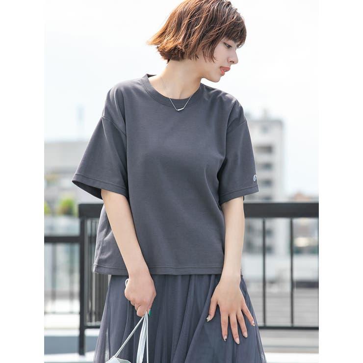 DISCUS ATHLETIC/吸水速乾ドロップショルダーワイドTシャツ | fifth | 詳細画像1