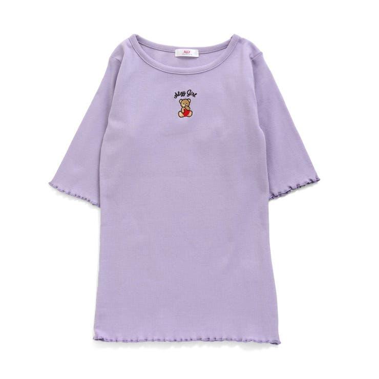 クマ刺繍リブT   F.O.Online Store   詳細画像1