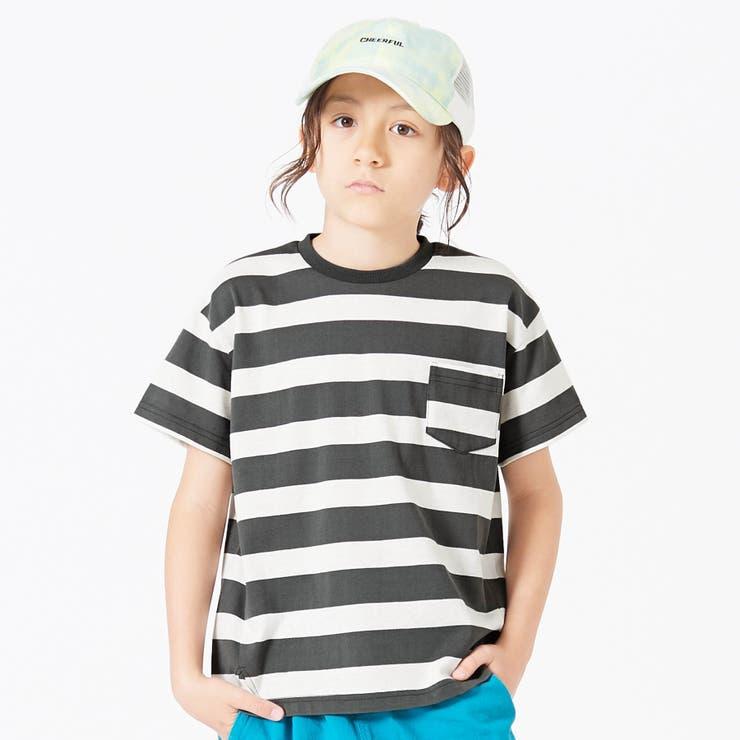 ビッグシルエットボーダーTシャツ   F.O.Online Store   詳細画像1