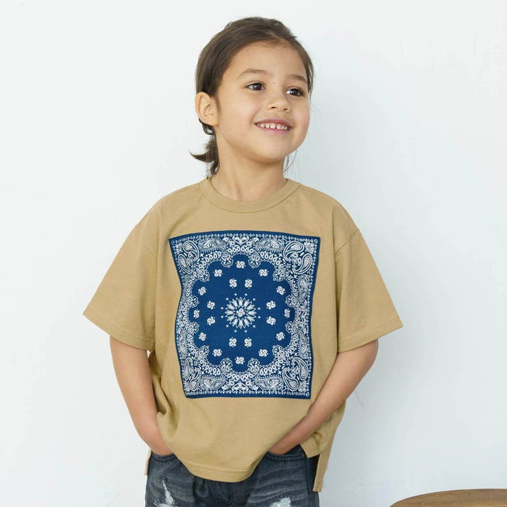 WEB限定 バンダナアップリケTシャツ | F.O.Online Store | 詳細画像1
