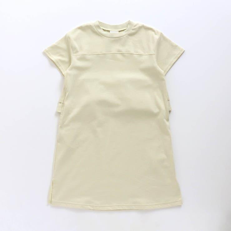 後ろフリルTシャツワンピース   F.O.Online Store   詳細画像1