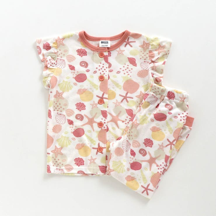 Girl's前開き貝柄パジャマ | F.O.Online Store | 詳細画像1