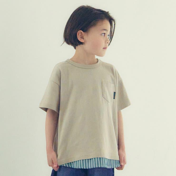 【WEB限定】布帛切替Tシャツ | F.O.Online Store | 詳細画像1