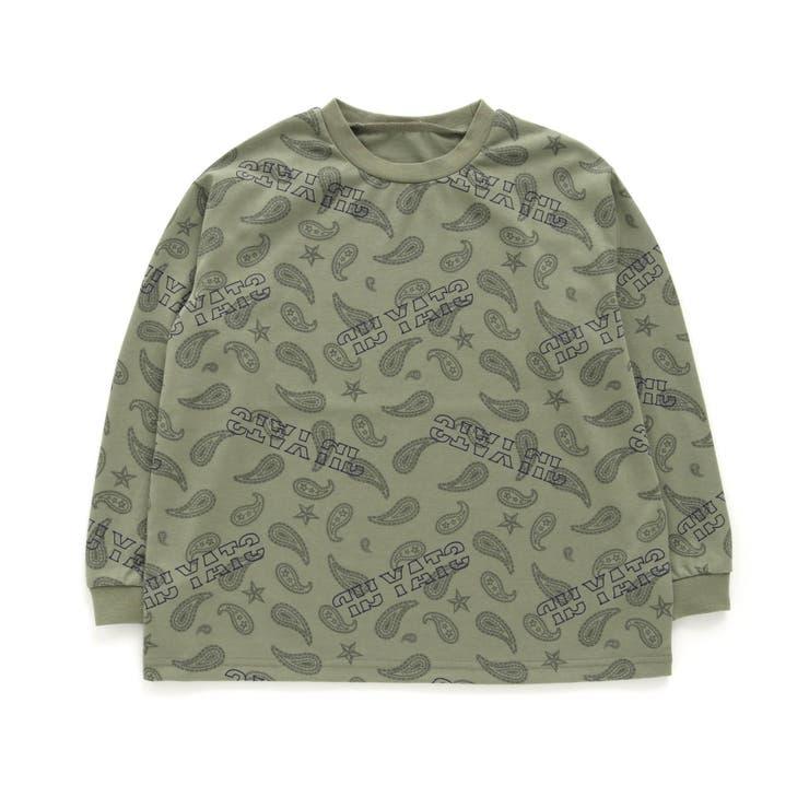ペイズリー総柄Tシャツ ジュニア   F.O.Online Store   詳細画像1