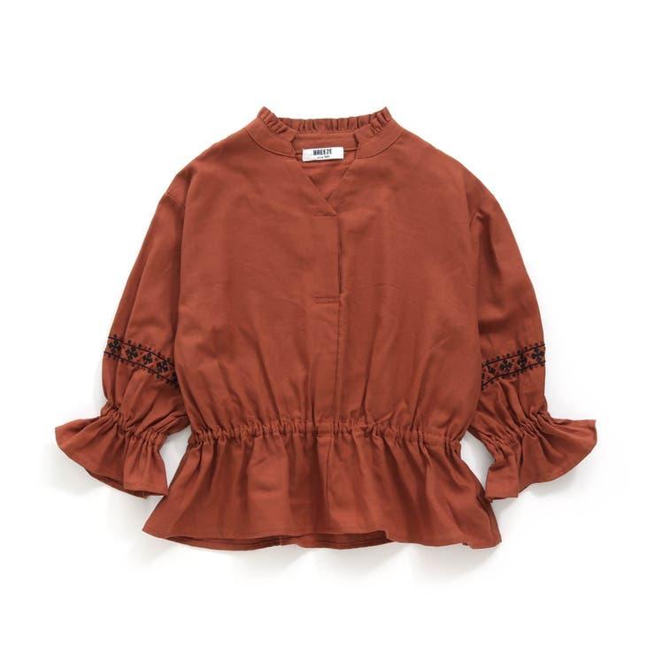 袖刺繍ブラウス   F.O.Online Store   詳細画像1