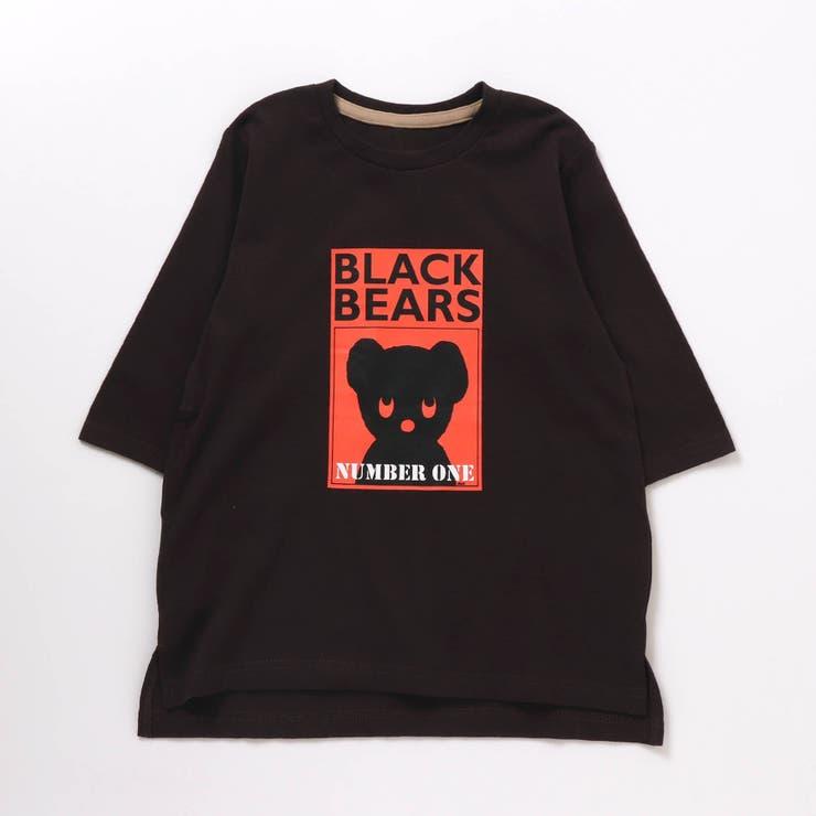 WEB限定 BLACK BEAR Tシャツワンピース(ブラック・ベア)   F.O.Online Store   詳細画像1