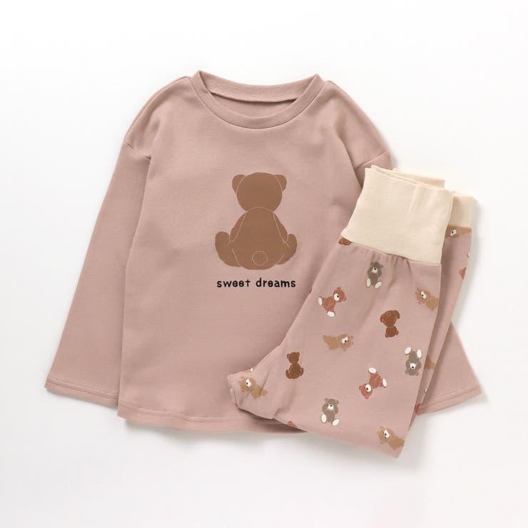 くま&パンダ腹巻ベビーパジャマ | F.O.Online Store | 詳細画像1