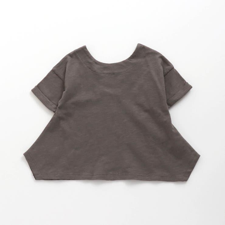 バックデザインランダムヘムTシャツ | F.O.Online Store | 詳細画像1