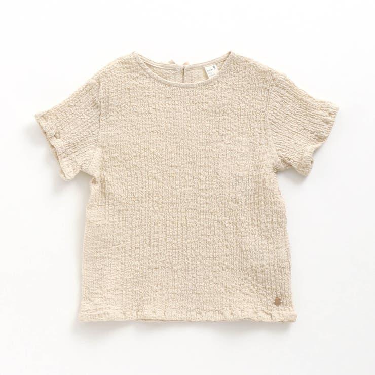 シャーリングボイル布帛Tシャツ | F.O.Online Store | 詳細画像1