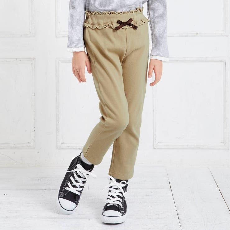 ウエストフリル | 7days Style パンツ_ストレッチ 9分丈 | F.O.Online Store | 詳細画像1