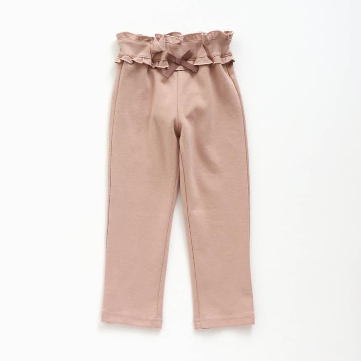 ウエストフリル   7days Style パンツ  9分丈   F.O.Online Store   詳細画像1
