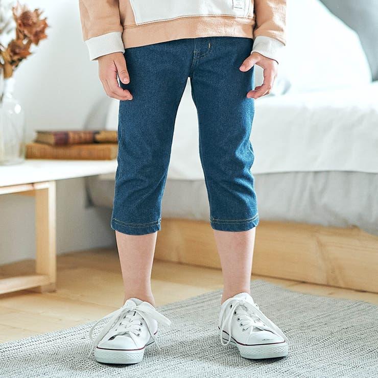 デニムニット   7days Style パンツ  7分丈   F.O.Online Store   詳細画像1