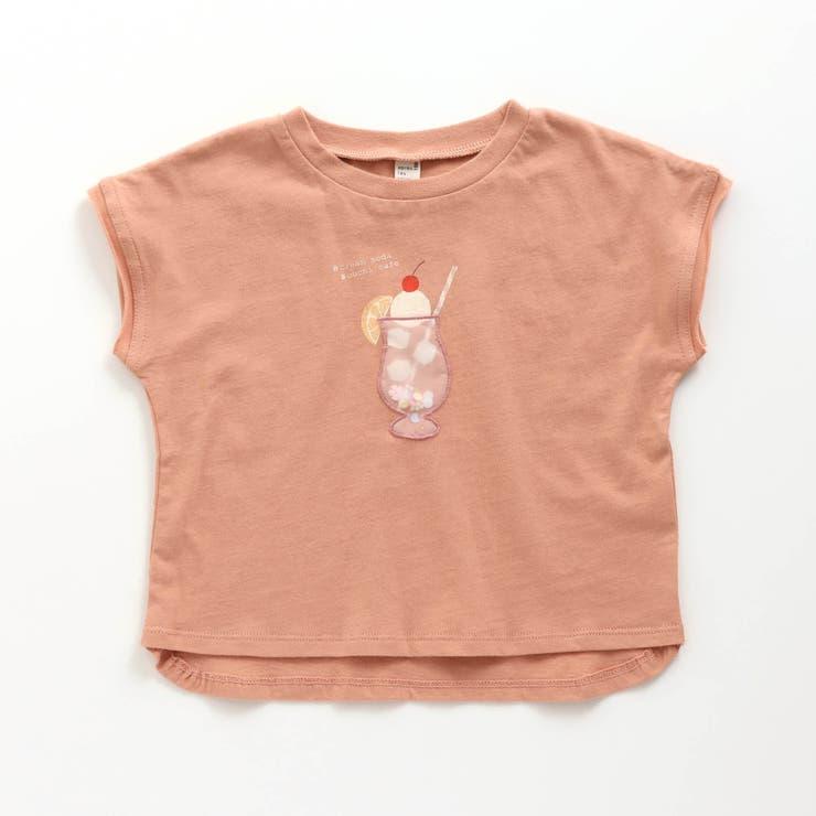 クリームソーダプリントTシャツ   F.O.Online Store   詳細画像1