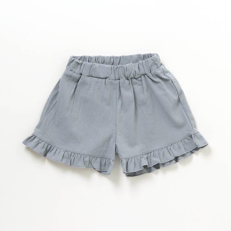 GIRL'S 裾フリルキュロットパンツ_ショート丈 ショート丈 | F.O.Online Store | 詳細画像1