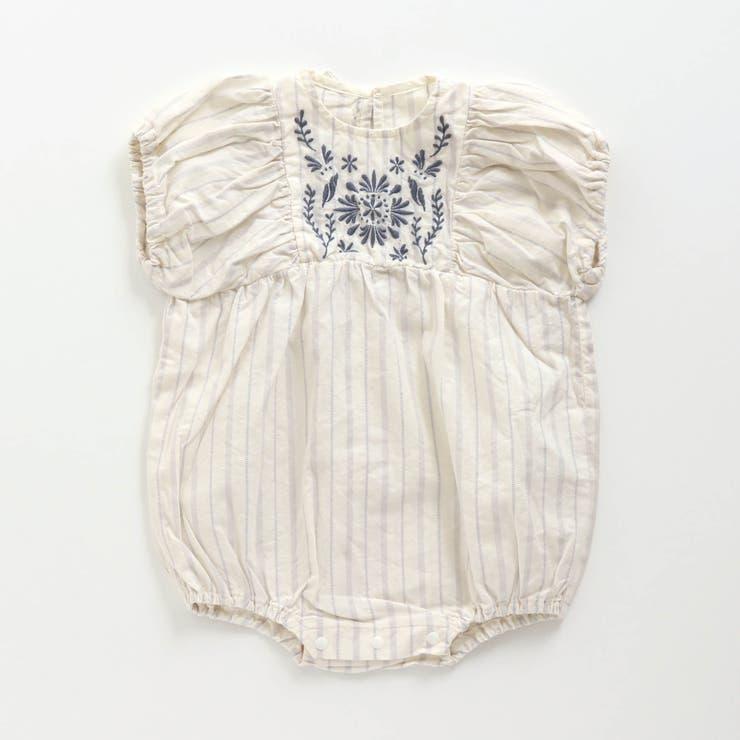 シェル刺繍ロンパス | F.O.Online Store | 詳細画像1
