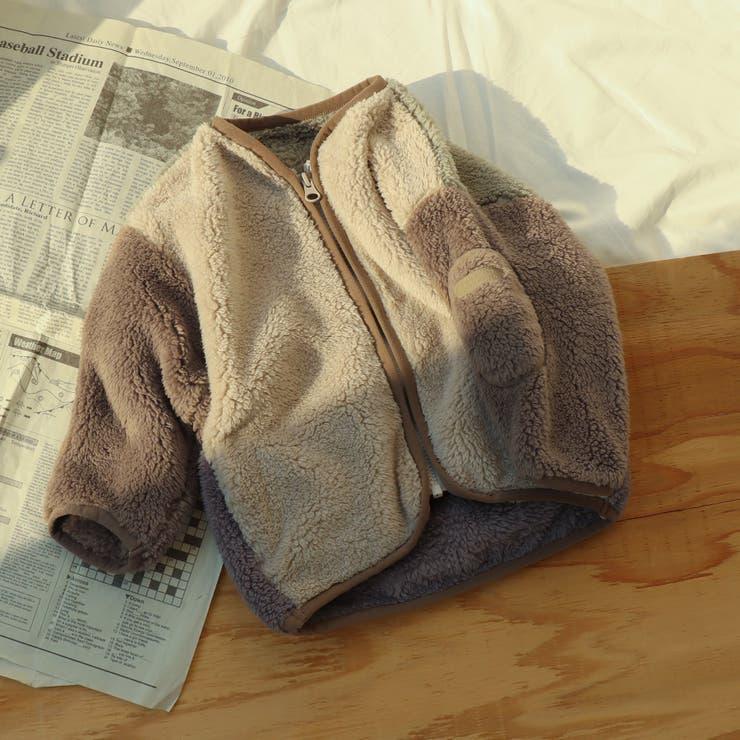 ポケット付きファーフリースジャケット | F.O.Online Store | 詳細画像1