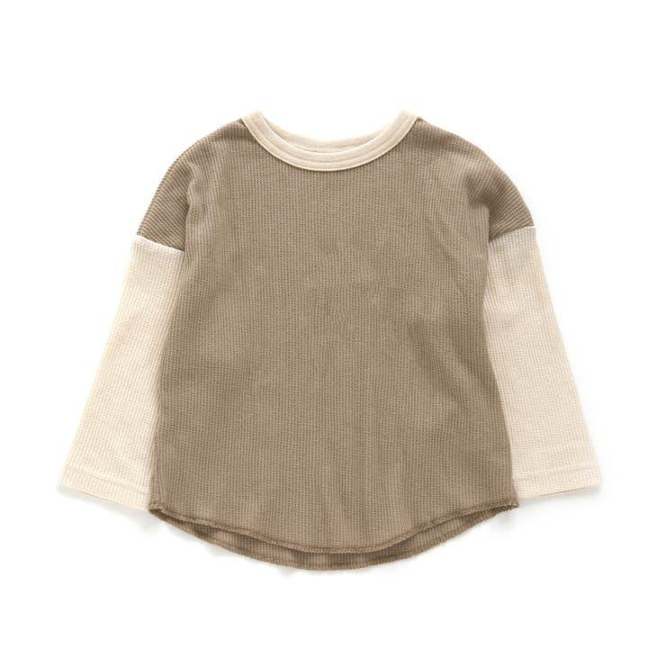 ワッフルバイカラーTシャツ | F.O.Online Store | 詳細画像1