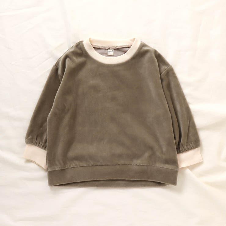 WEB限定 ベロアTシャツ | F.O.Online Store | 詳細画像1
