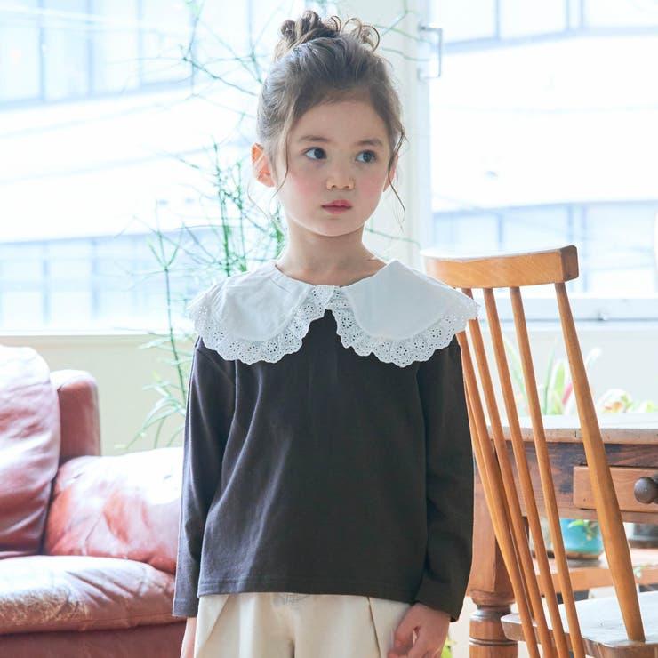 WEB限定 衿付きカットソー長袖Tシャツ | F.O.Online Store | 詳細画像1