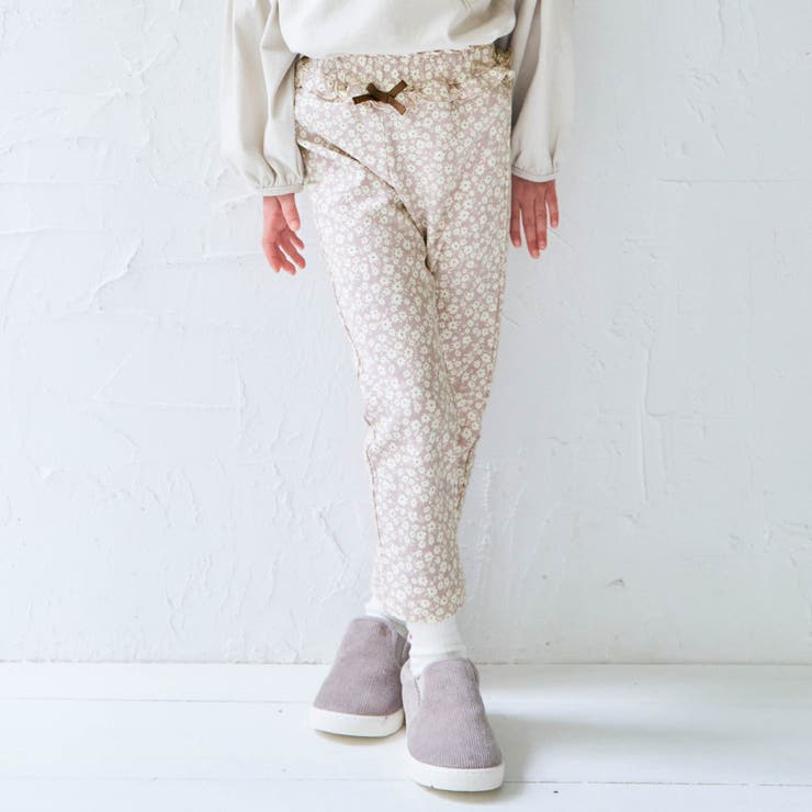 ウエストフリル/7days Style pants_10分丈 | F.O.Online Store | 詳細画像1